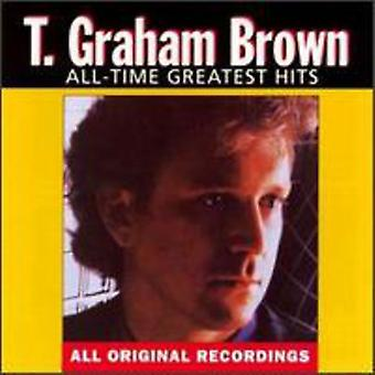 T. Graham Brown - All-Time Greatest Hits [CD] USA import