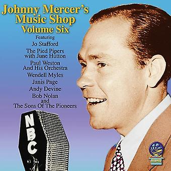 Johnny Mercer - Music Shop VI [CD] USA import