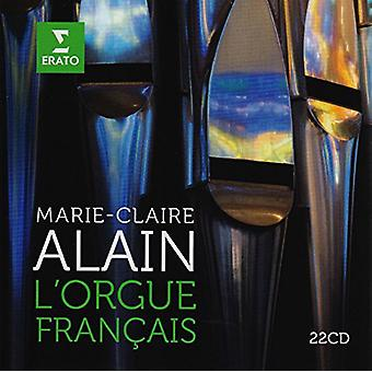 Marie Claire Alain - L'Orgue Francais [CD] USA import