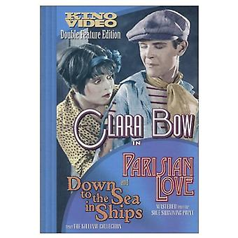 Parisiska Love/Down till havet i fartyg [DVD] USA import