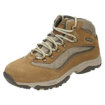 Dames Hi-Tec Casual Lace Up laarzen Cliff Trail WP