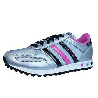 Adidas LA Trainer ragazze formatori / scarpe - argento