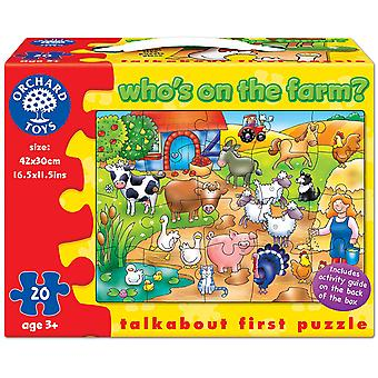Orchard Who Is On The Farm Puzzle
