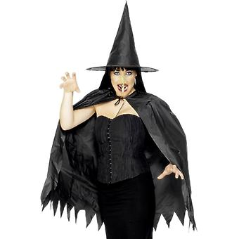 Witches costume set 3-piece Halloween horror witch