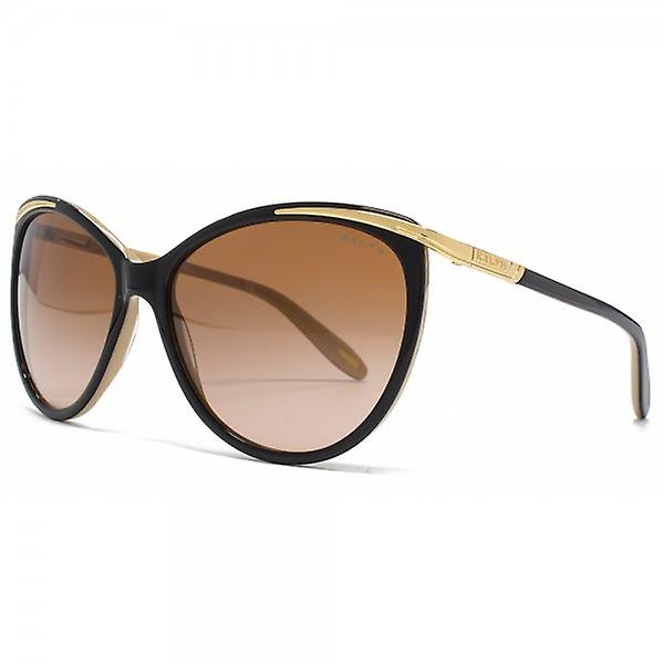 Ralph By Ralph Lauren Cateye Sunglasses In Black Nude