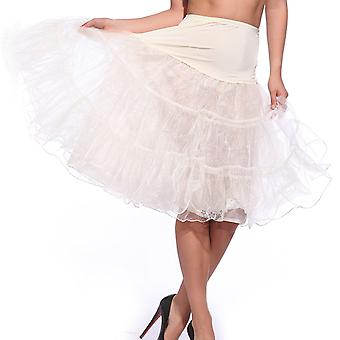 "Boolavard® TM 26 ""50s Retro-Vintage-Swing-Unterrock underkjol Fancy netto Rock Rockabilly Tutu"