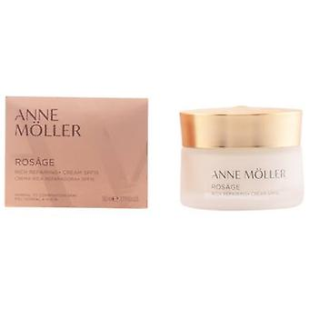 Anne Möller Rosage Rich Cream Spf15 50ml Repairing