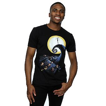 Disney mannen Nightmare Before Christmas begraafplaats T-Shirt
