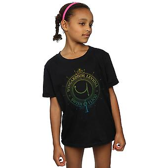 Harry Potter Girls Wingardium Leviosa Spells Charms T-Shirt