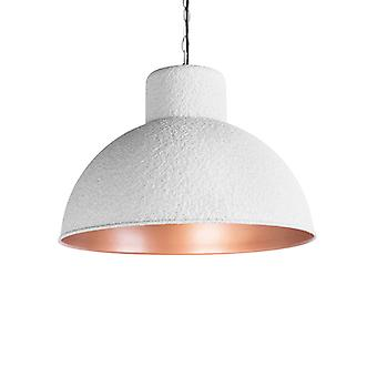 QAZQA Pendant Lamp Map Grey and Copper
