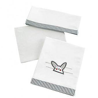Micuna Game Sheets Cradle 120x60 cm (3 pieces) Tx-821 Grey Rabbit