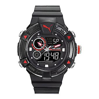 PUMA watch wrist watch mens Watch analog digital silicone PU911391001 COLLIDE