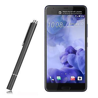 InventCase Premium Round Thin Tip Capacitive Disc Stylus Pen for HTC U Ultra 2017