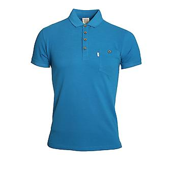 883 POLICE WINTON ELECTRIC BLUE POLO SHIRT