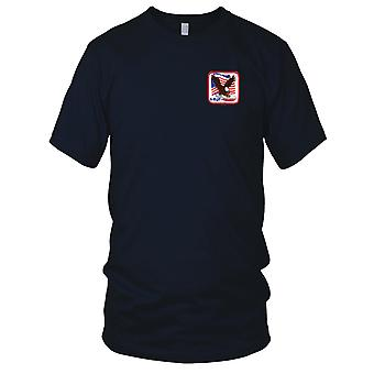 Attack On America 9-11-01 Terrorism Flag Embroidered Patch - Kids T Shirt