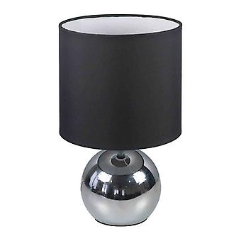 Smartware table lamp touch & dim Black