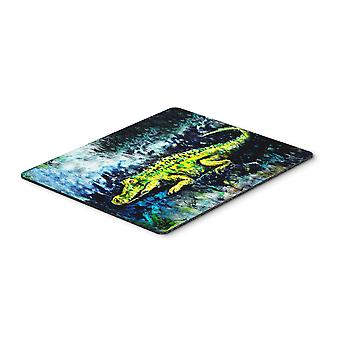 Carolines Treasures  MW1233MP Sneaky Alligator Mouse Pad, Hot Pad or Trivet