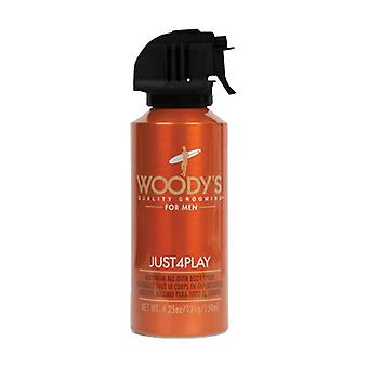 Woody's Just4Play Maximum All Over Body Spray 150ml