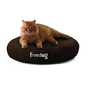 Freedog Curve Puff Black for your pet (Dogs , Bedding , Matresses and Cushions)