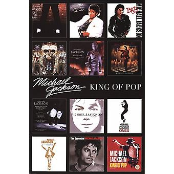 Michael Jackson - Album Covers Poster Poster Print