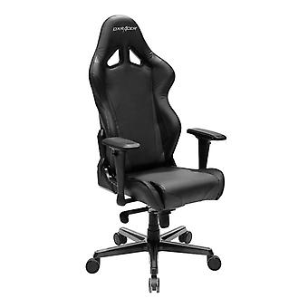 DX Racer DXRacer OH/RV001/N High-Back Racing Style Office Chair Carbon Look Vinyl+PU(Black)