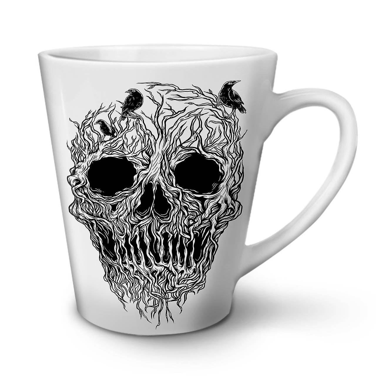 Céramique Blanche 12 Arbre De Horreur OzWellcoda Nouvelle Crâne Latte En Tasse Café 8vNwmOn0