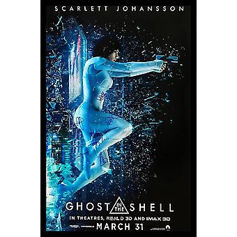 Ghost in the Shell - Signed Movie Poster