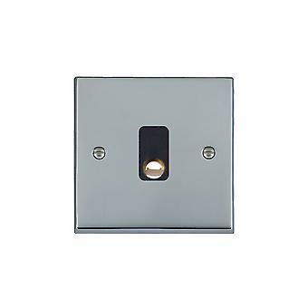 Hamilton Litestat Cheriton Victorian Bright Chrome 20A Cable Outlet BL