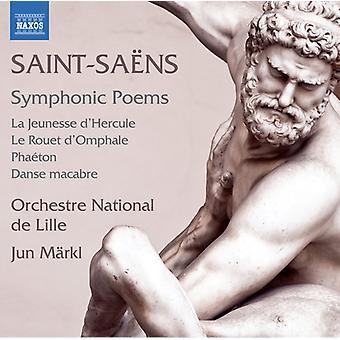 Saens / Markl - Symphonic Poems [CD] USA import