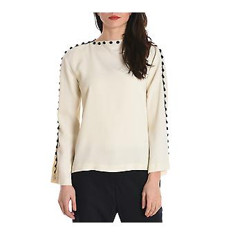 Jucca ladies J2622001045 white acetate blouse