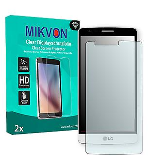 LG D722K Screen Protector - Mikvon Clear (Retail Package con accessori)