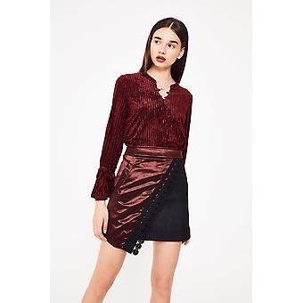 N12H Velvet Dream Wrap Skirt