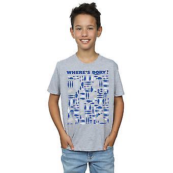 Disney Boys Finding Dory Where's Dory? T-Shirt
