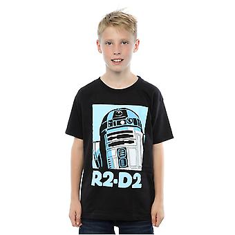 Star Wars Boys R2-D2 Poster T-Shirt
