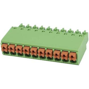 Pin enclosure - cable Total number of pins 10 Degson 15EDGKN-3.5-10P-14-00AH Contact spacing: 3.5 mm 1 pc(s)