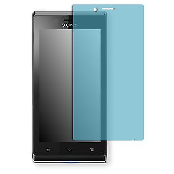 Sony Xperia ST26a screen protector - Golebo view protective film protective film