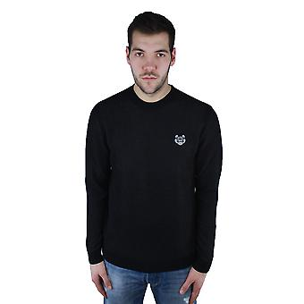 Kenzo F855PU2233AD.99 Black Crew Neck Sweater