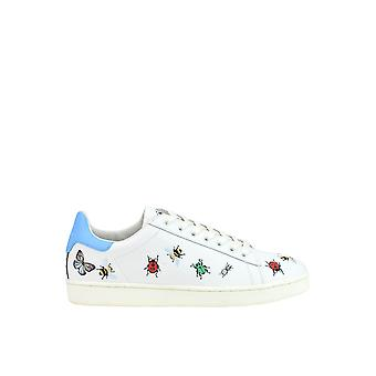 MOA women's MCGLCAK03041E White leather of sneakers