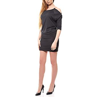 B.C.. best connections by heine shirt dress knee length black