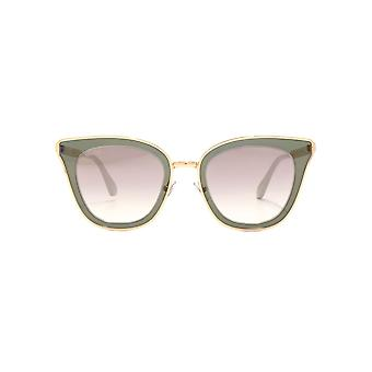 Jimmy Choo Lory Sunglasses In Copper Gold