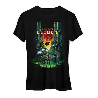 The Fifth Element 5th Element Women's Black T-shirt