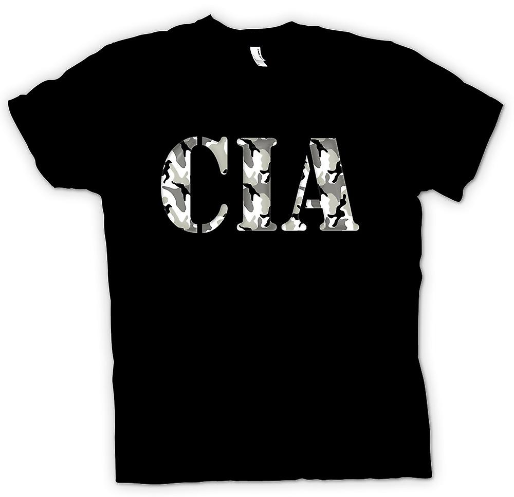 Mens T-shirt-CIA US Special Ops Intel