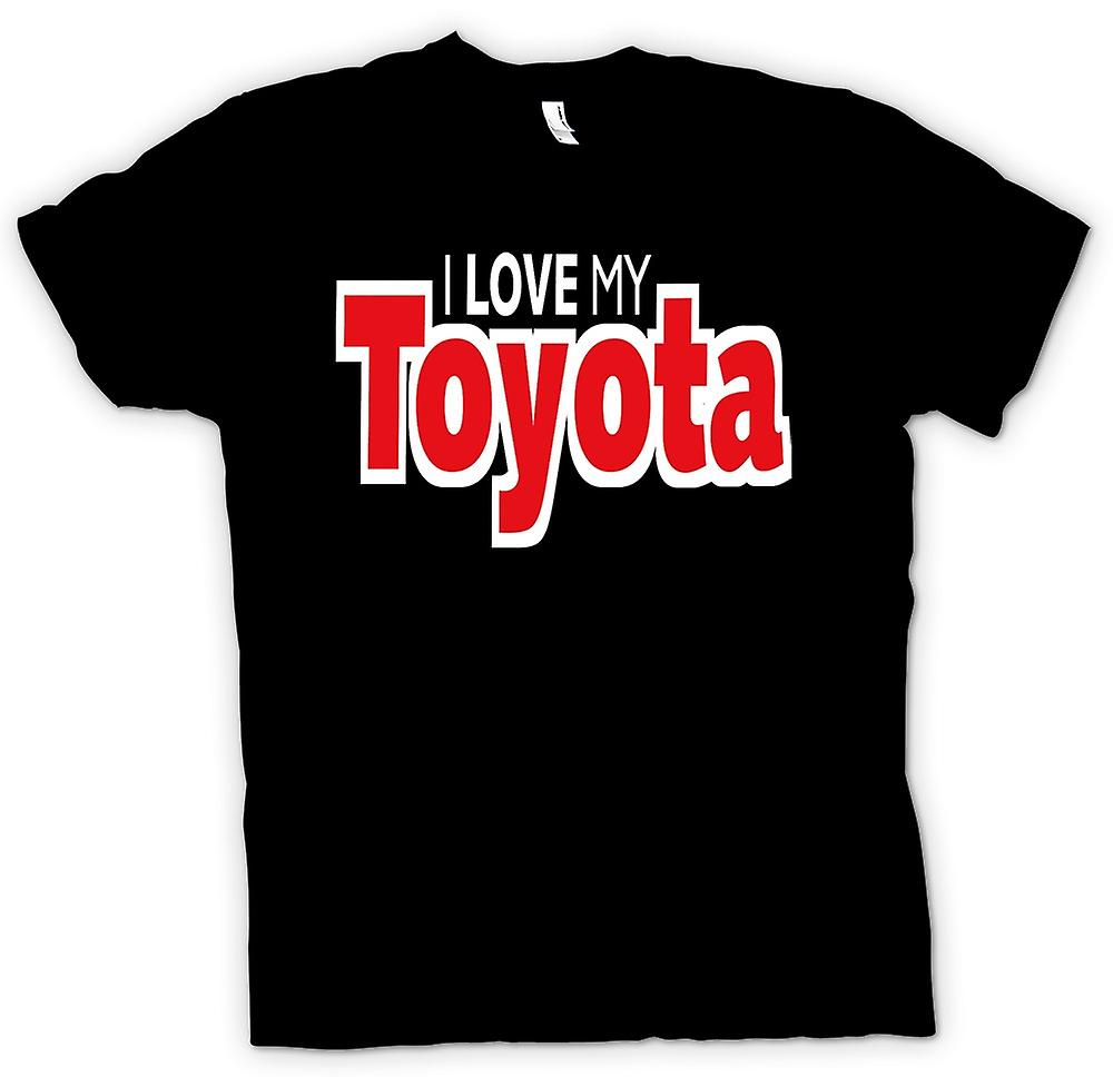 Womens T-shirt - I Love My Toyota - Car Enthusiast