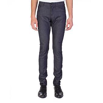 Balenciaga mænd Slim Fit Denim Jeans bukser blå