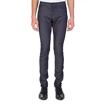 Balenciaga Men's Slim Fit Denim Jeans Pants Blue