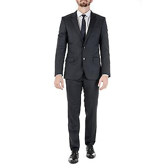 Hugo Boss Mens Suit Dark Blue Huge Genius