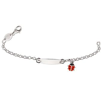 Scout Children ID bracelet engraved kids bracelet Ladybird girl 260200100
