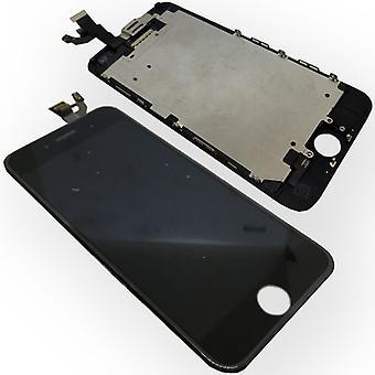 All in One Display LCD Komplett Ersatz Einheit Touch Panel für Apple iPhone 6 4.7 Zoll Schwarz (ohne Homebutton)