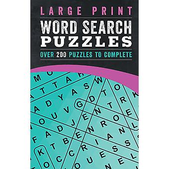 Parragon-Large Print Word Search Puzzles