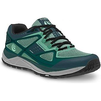 Terraventure Womens Low Drop & Wide Toe Box Trail Running Shoes Teal/Mint